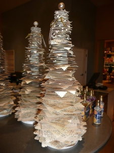 Paper Christmas Tree Project